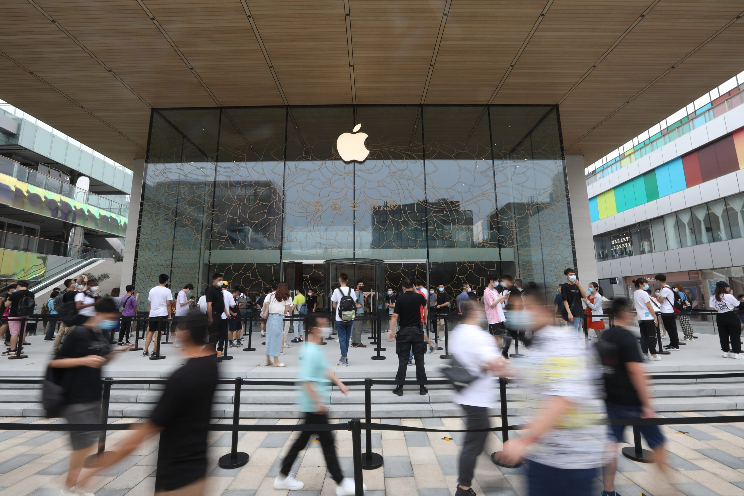 Apple grew in China with 'record' iPad and services revenue