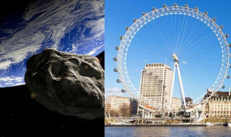 Asteroid news: NASA reveals 'hazardous' asteroid bigger than London Eye on shut method | Science | News