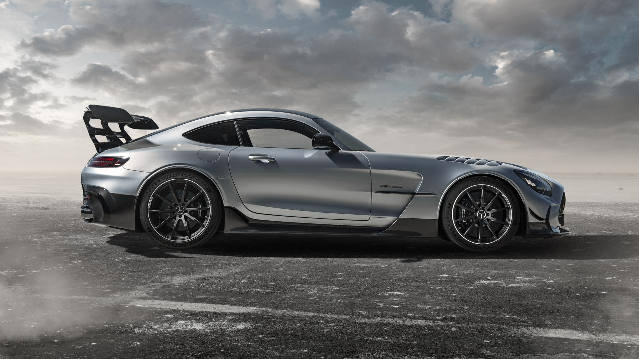 Be afraid: it's the 202mph Mercedes-AMG GT Black Series