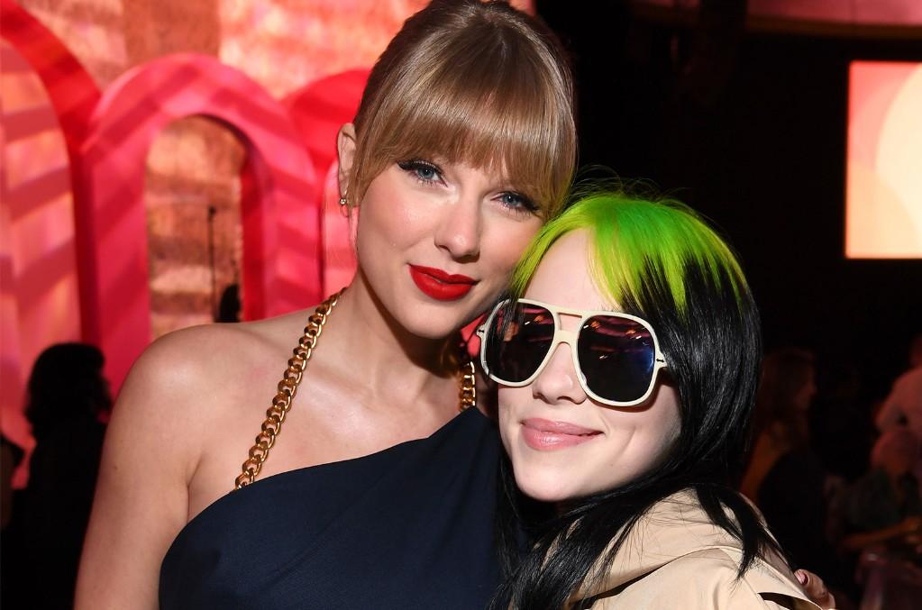 Taylor Swift and Billie Eilish
