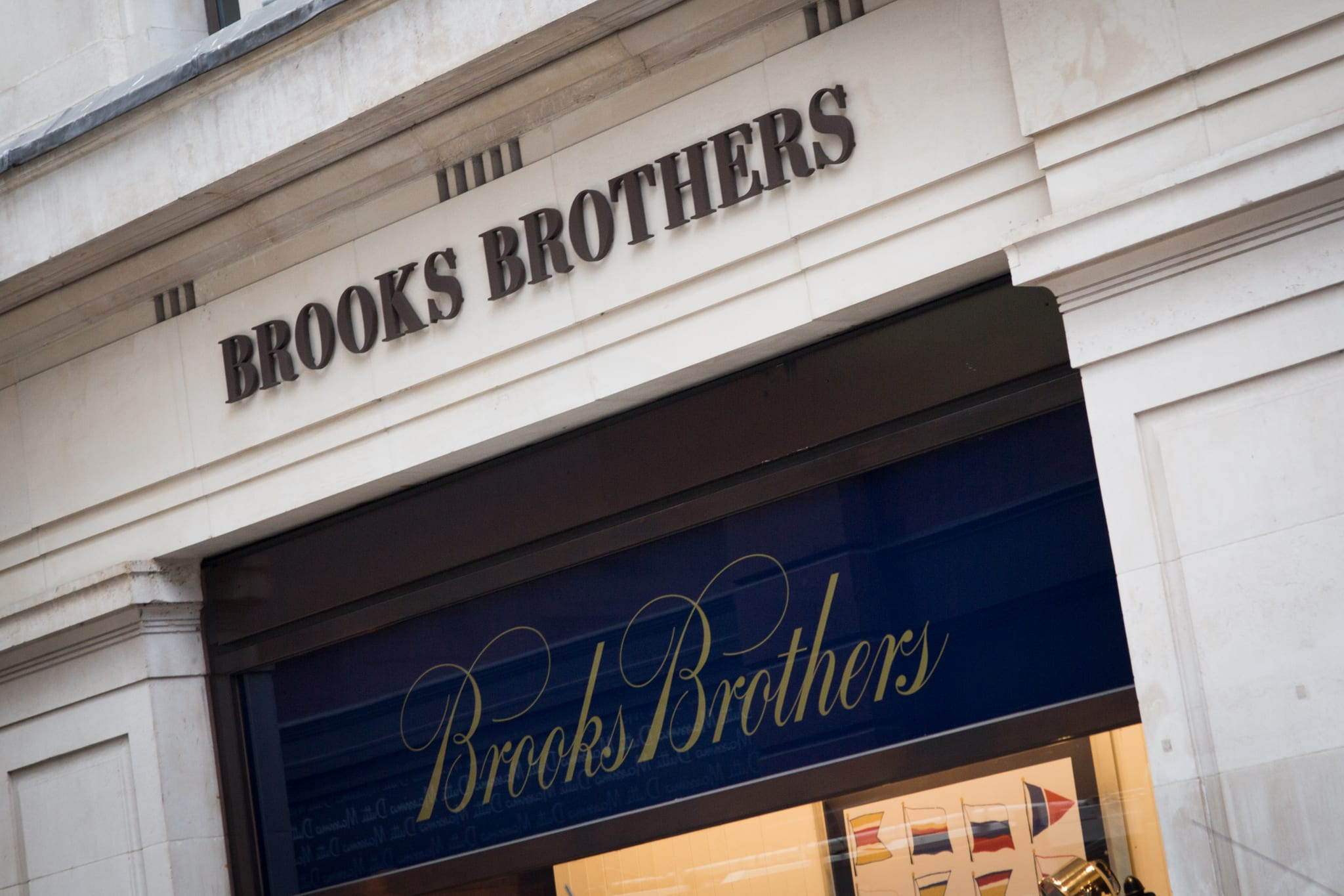 Brooks Brothers files for bankruptcy, as it seeks buyer, closes stores