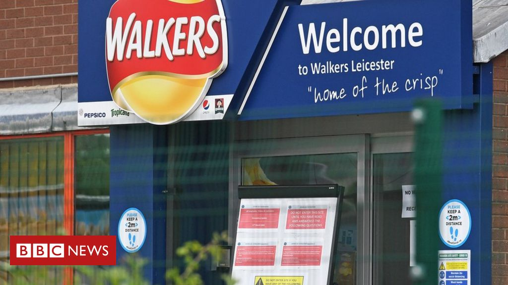 Coronavirus: Walkers crisps confirms 28 cases at Leicester site
