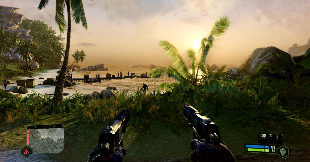 Crysis Remastered absolutely operates on Nintendo Switch, and it looks like this