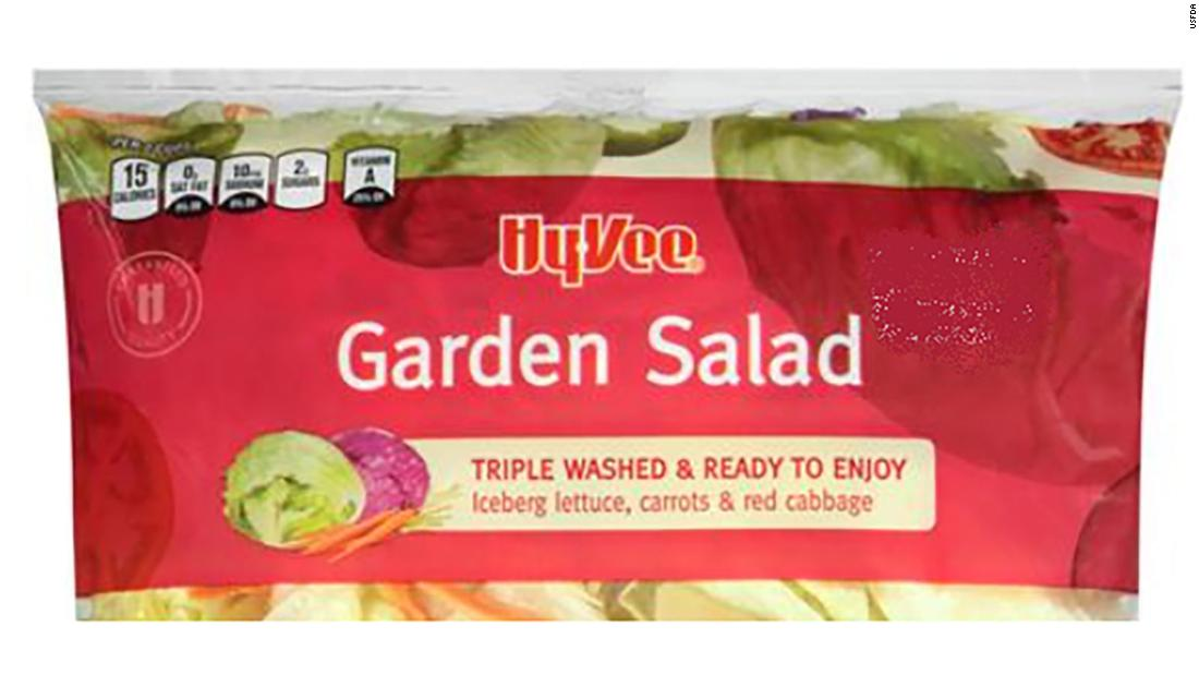 Cyclospora: More than 600 people in 11 states get infections linked to bagged salad