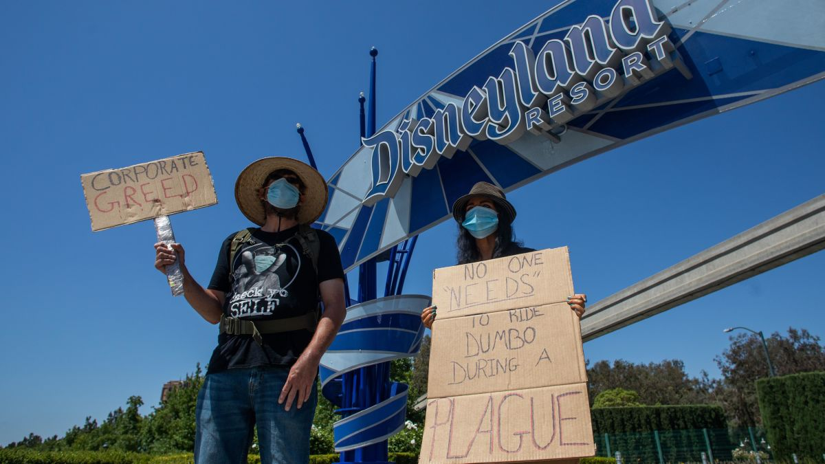 Disney World Still Reopening as Florida Coronavirus Cases Surge