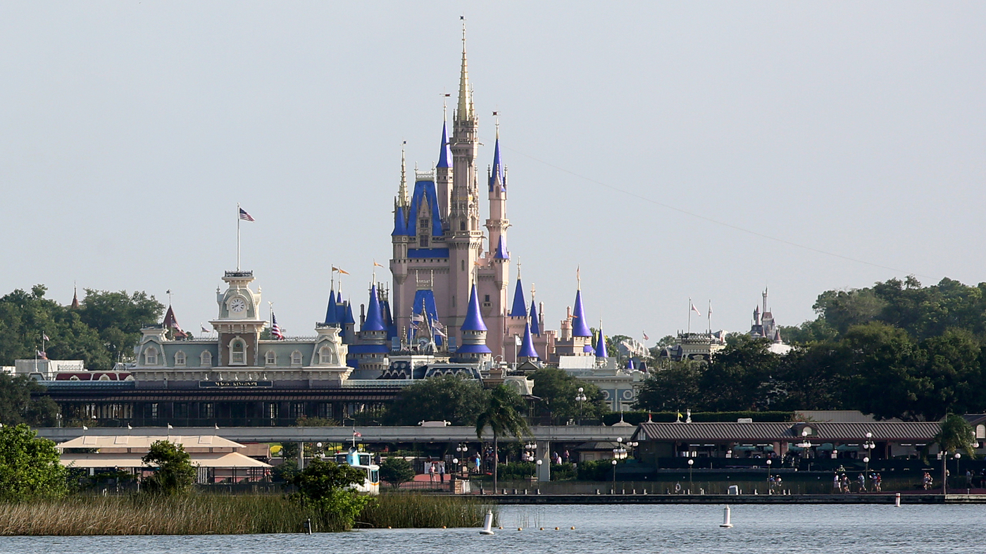 Disney World Reopens As Florida Sees Surge In COVID-19 Cases : NPR