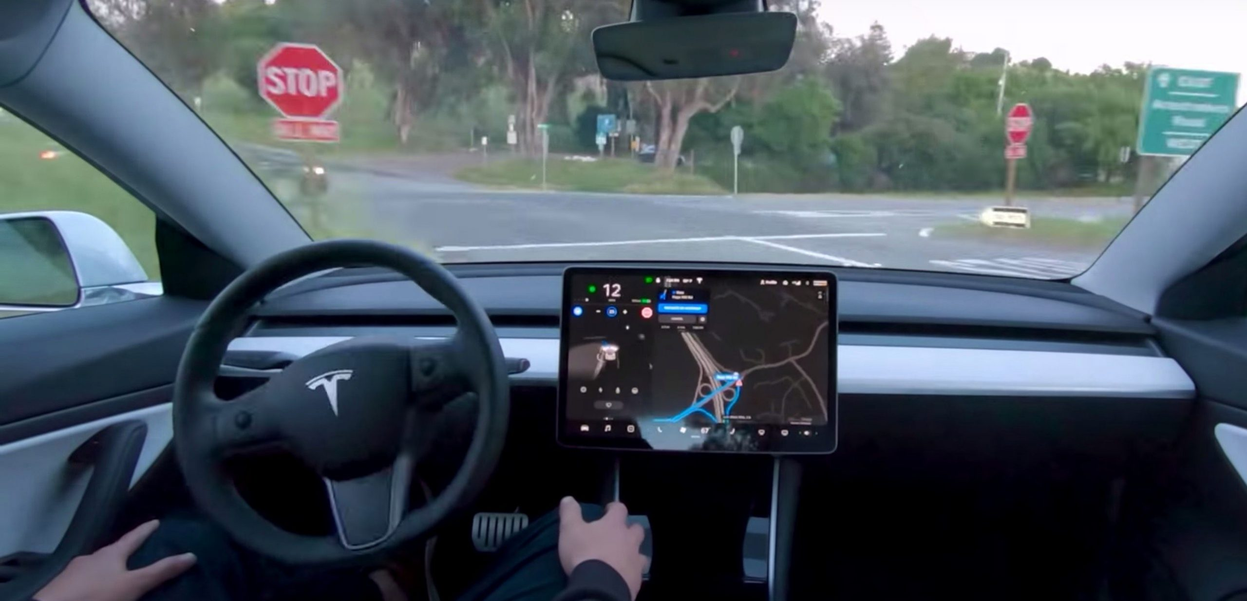 Elon Musk on Tesla Self-Driving: 'I can almost go from my house to work with no intervention'