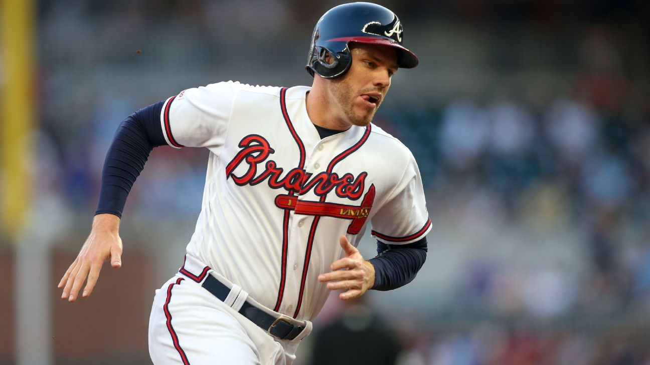 Freddie Freeman among four Braves players to test positive for coronavirus