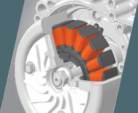 Honda ACG mechanism