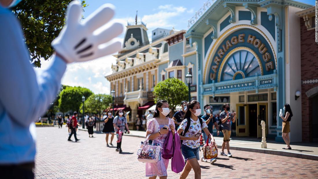 Hong Kong Disneyland will close again after a surge in coronavirus cases