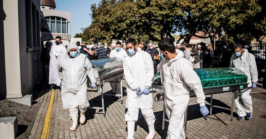 In South Africa, Burial Traditions Upended by Coronavirus