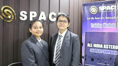 Schoolgirls in India discover Earth-bound asteroid
