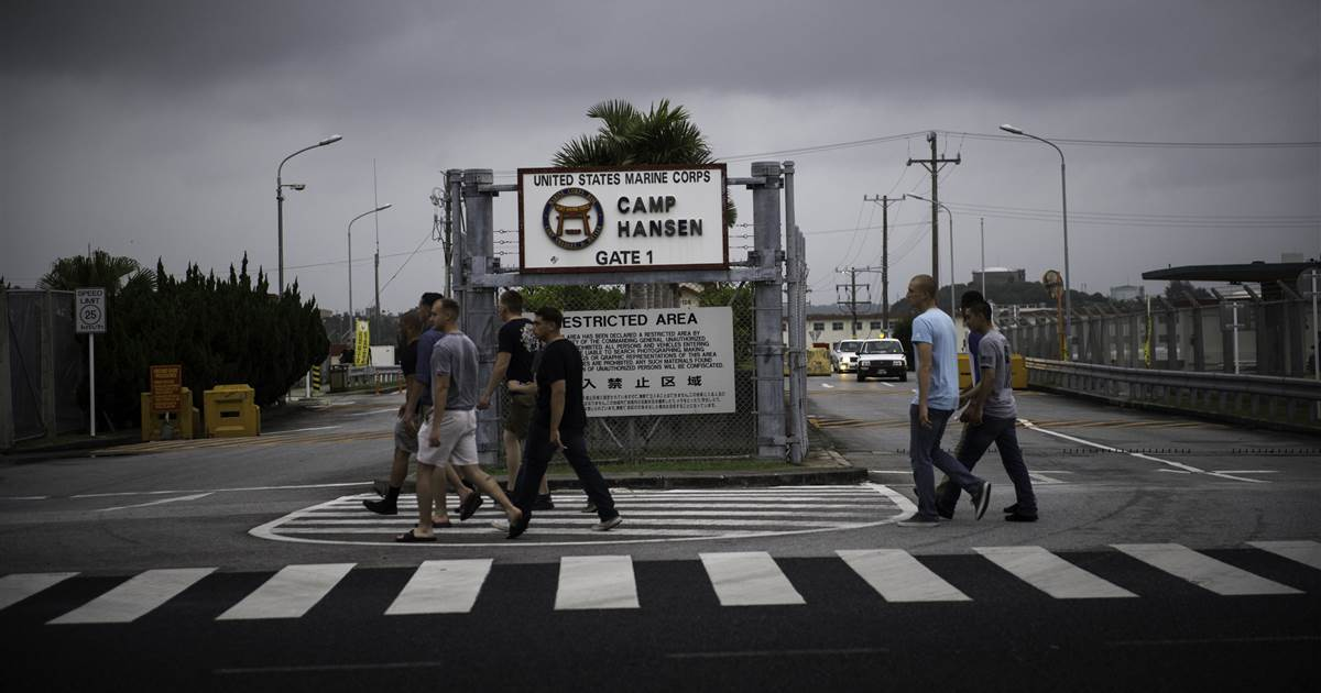 Japanese governor requires U.S. army assembly immediately after coronavirus outbreak at Okinawa bases
