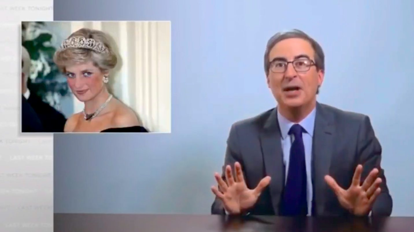 John Oliver Believes the Royal Family Killed Princess Diana