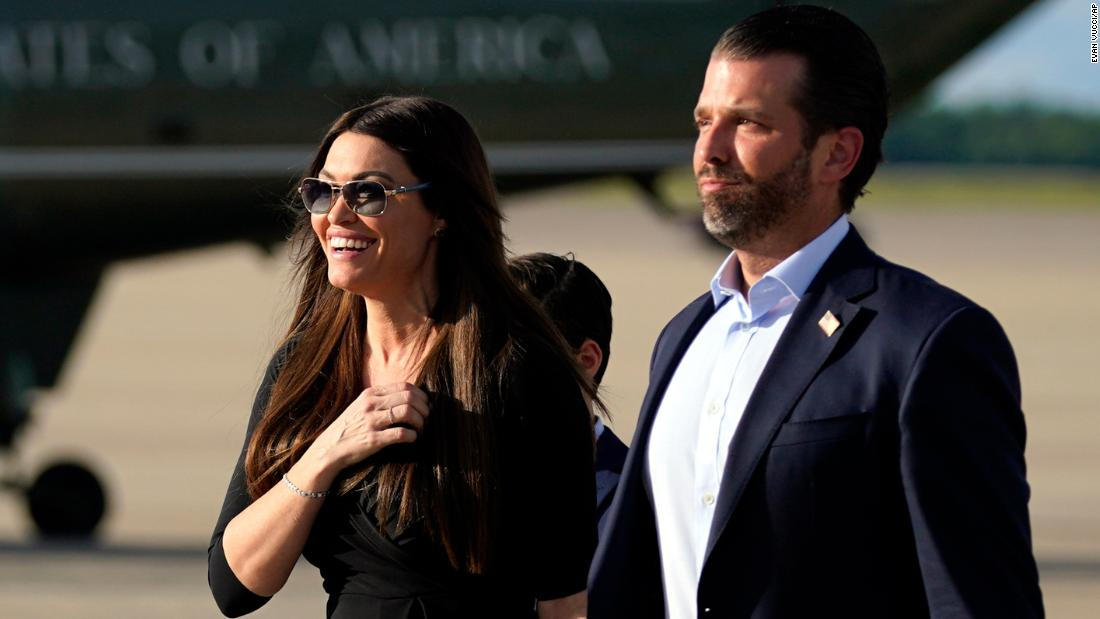 Kimberly Guilfoyle — Donald Trump Jr.'s girlfriend and prime Trump campaign official — tests beneficial for coronavirus