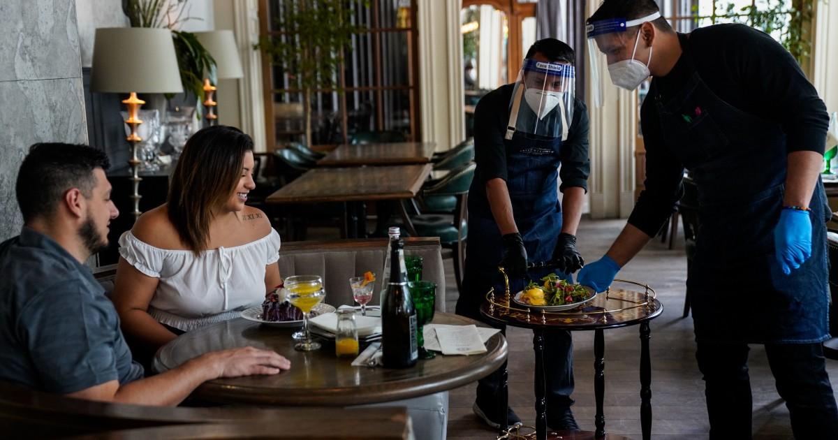 L.A. County again closes restaurants amid coronavirus surge