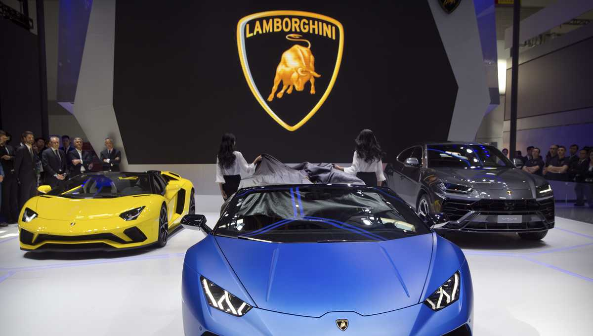 Lamborghini purchased by Florida man using virus relief funds, feds say
