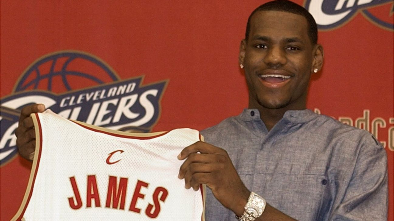 LeBron James rookie card goes for file $1.8M at auction