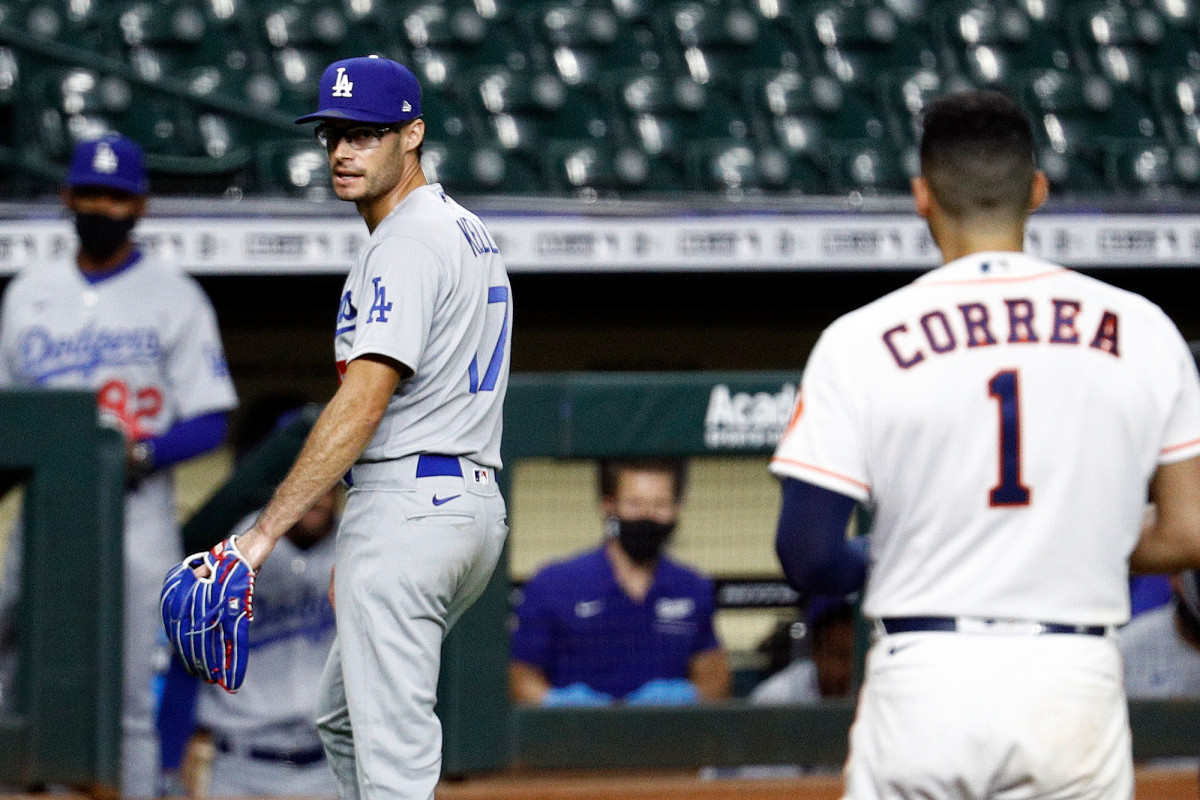 MLB players rally around Dodgers' Joe Kelly after suspension