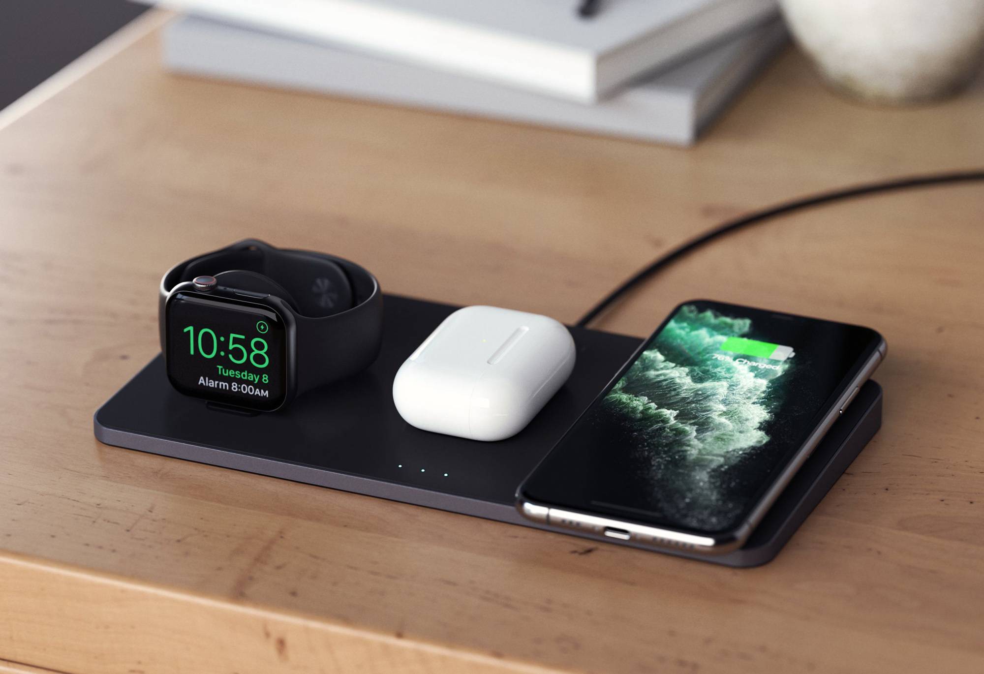 MacRumors Giveaway: Acquire a Trio Wireless Charging Pad From Satechi