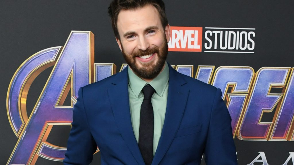 """Chris Evans attends the World Premiere Of Walt Disney Studios Motion Pictures """"Avengers: Endgame"""" at Los Angeles Convention Center on April 22, 2019 in Los Angeles, California."""