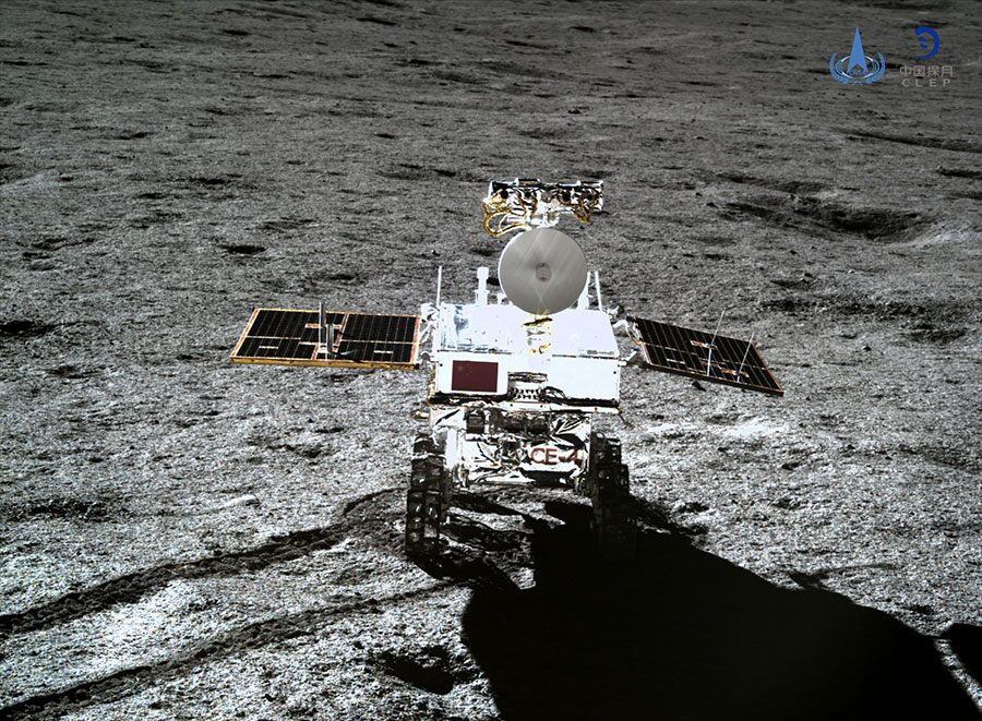 Mysterious, gel-like substance discovered on the far side of the moon has been identified
