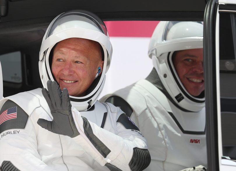NASA astronauts Doug Hurley and Bob Behnken prepare for historic return to Earth in SpaceX capsule