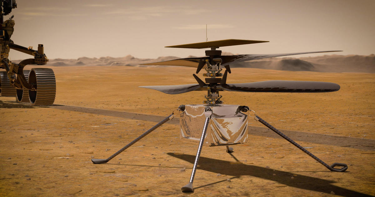 "NASA will soon try to fly a helicopter over Mars: ""It really is like the Wright brothers' moment"""