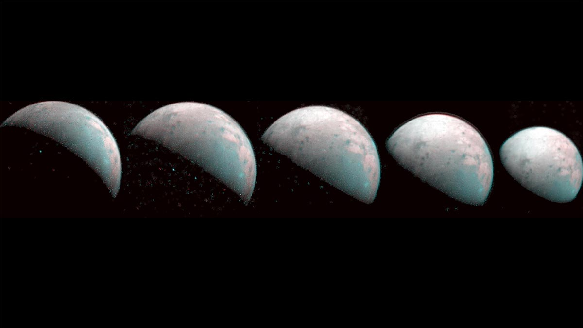 NASA's Juno Spacecraft Can take Initially Images of Jupiter Moon Ganymede's North Pole