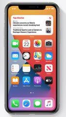 Apple's new homescreen via iOS14