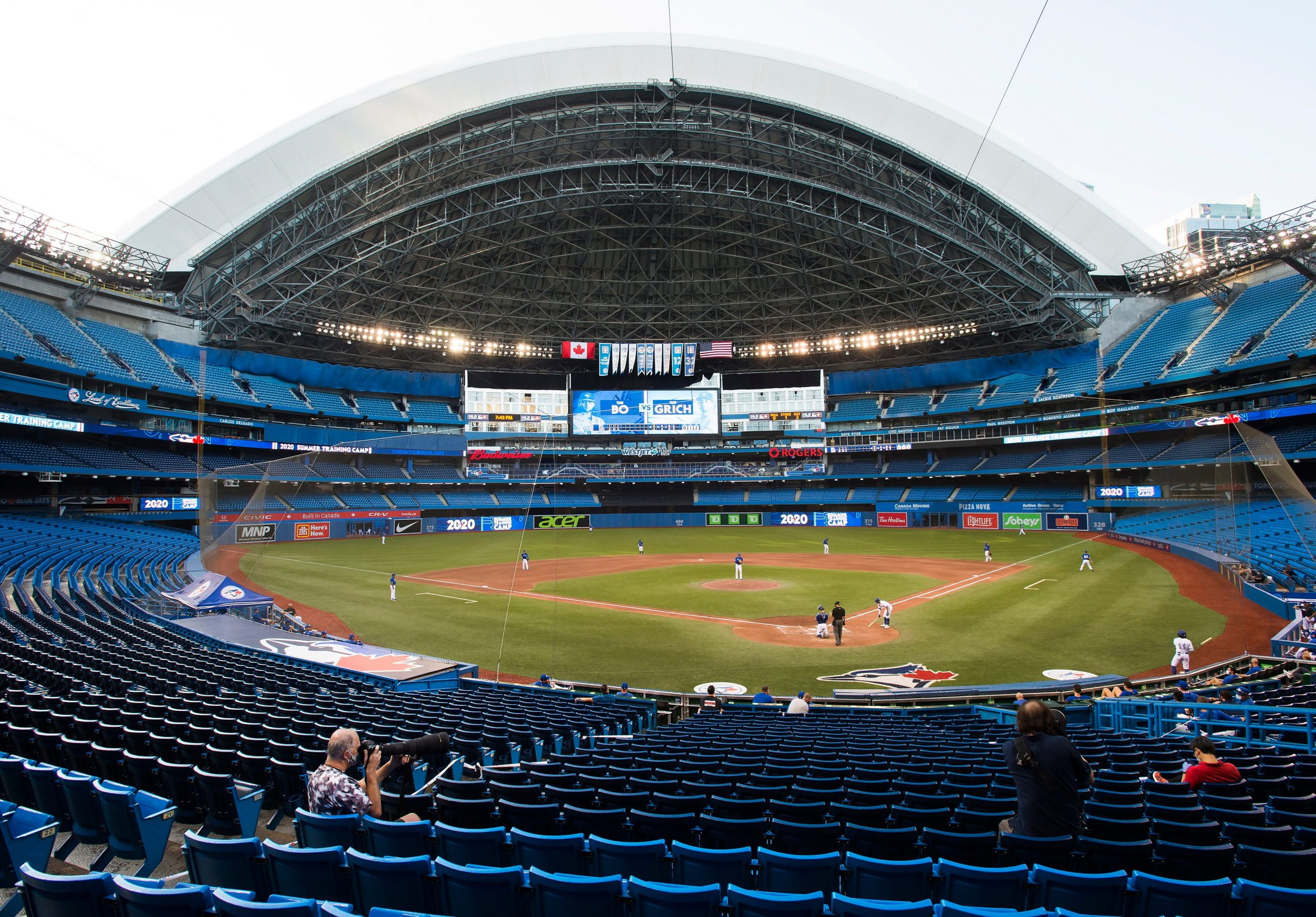 No Canada: Blue Jays barred from playing games in Toronto