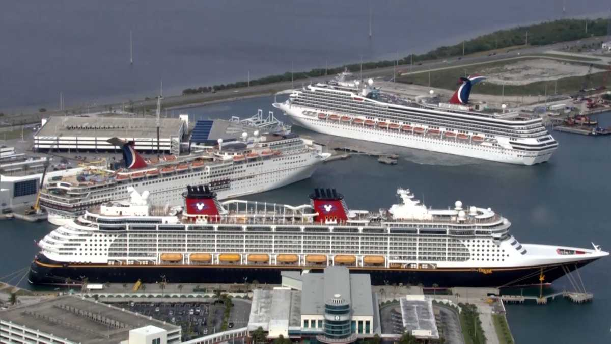 "'No sail order"" for cruise ships extended by way of September"