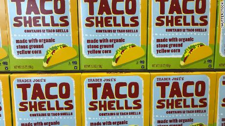 "Taco shells sold at Trader Joe's branded with ""Trader Jose's"""