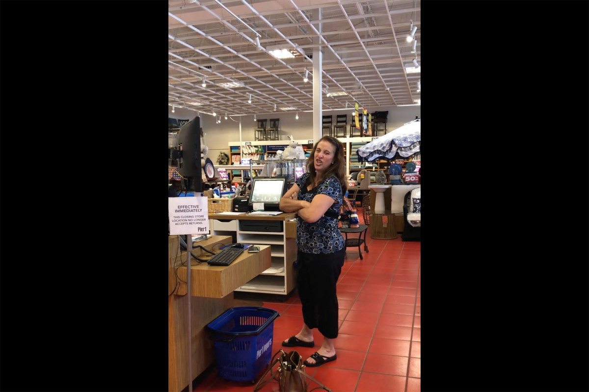 Video shows woman coughing on a cancer patient at a Florida store