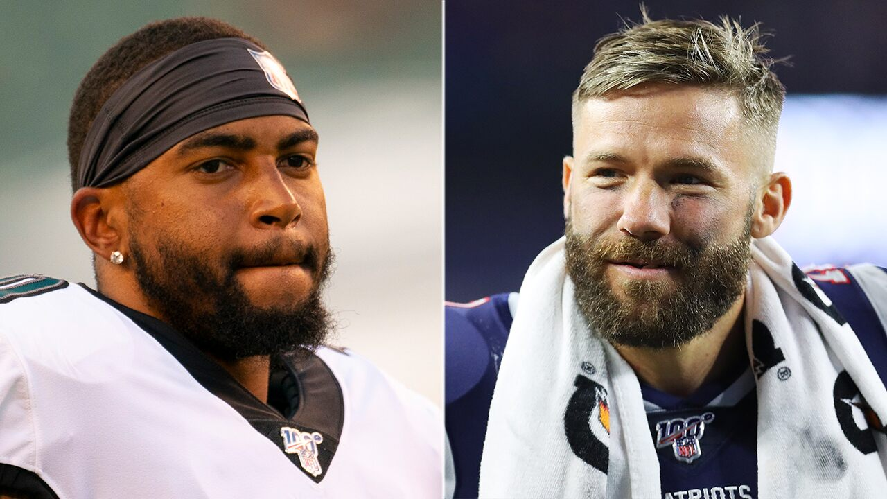 Patriots' Julian Edelman offers to take DeSean Jackson to Holocaust Museum following anti-Semitic posts