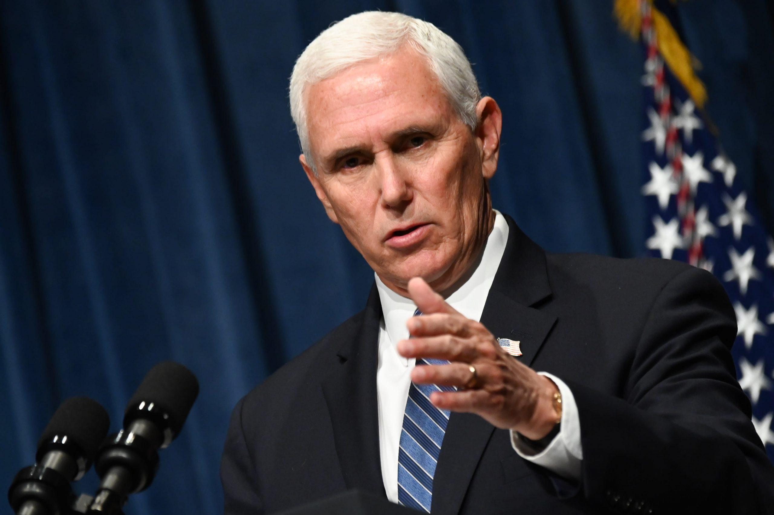 Pence vows to 'keep opening up America'