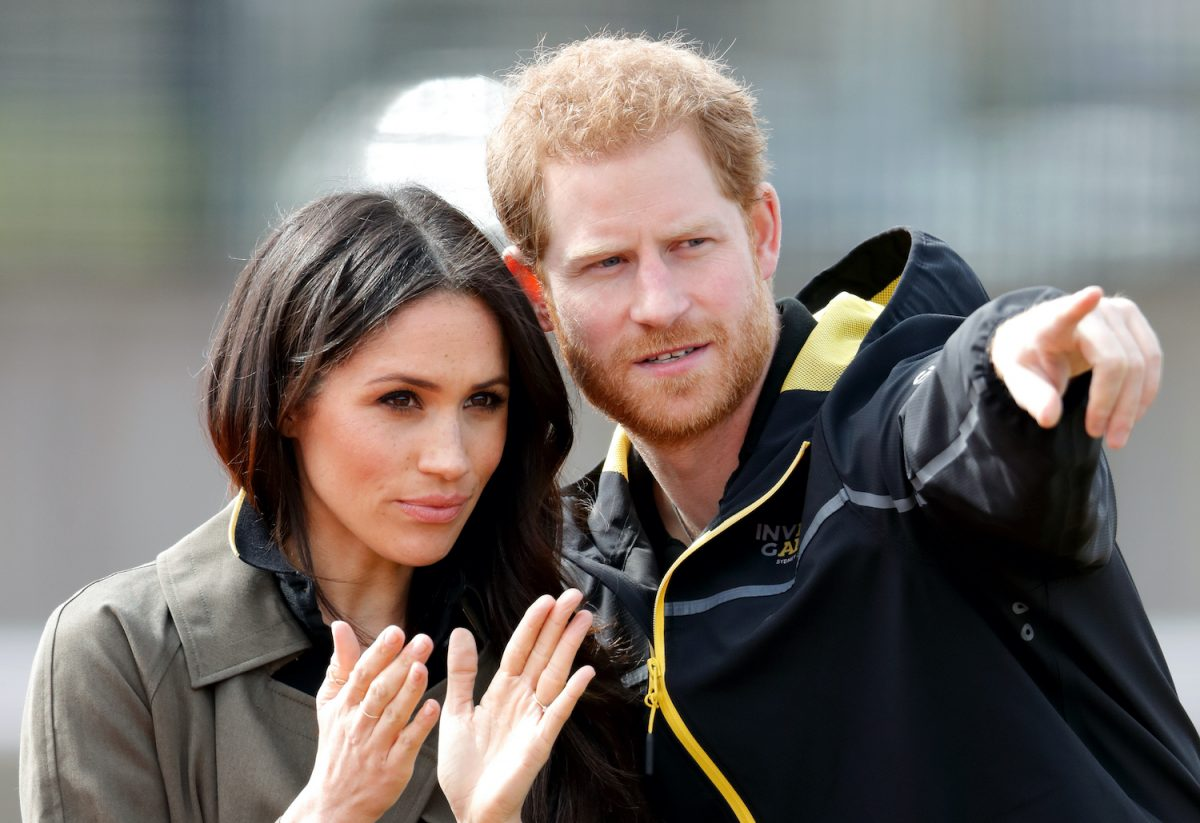 Meghan Markle and Prince Harry attend the UK Team Trials for the Invictus Games Sydney 2018 at the University of Bath