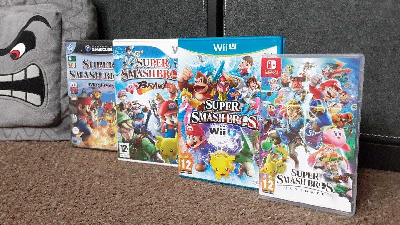 Random: Have Super Smash Bros. Boxes Been Teasing Future Games All Along?