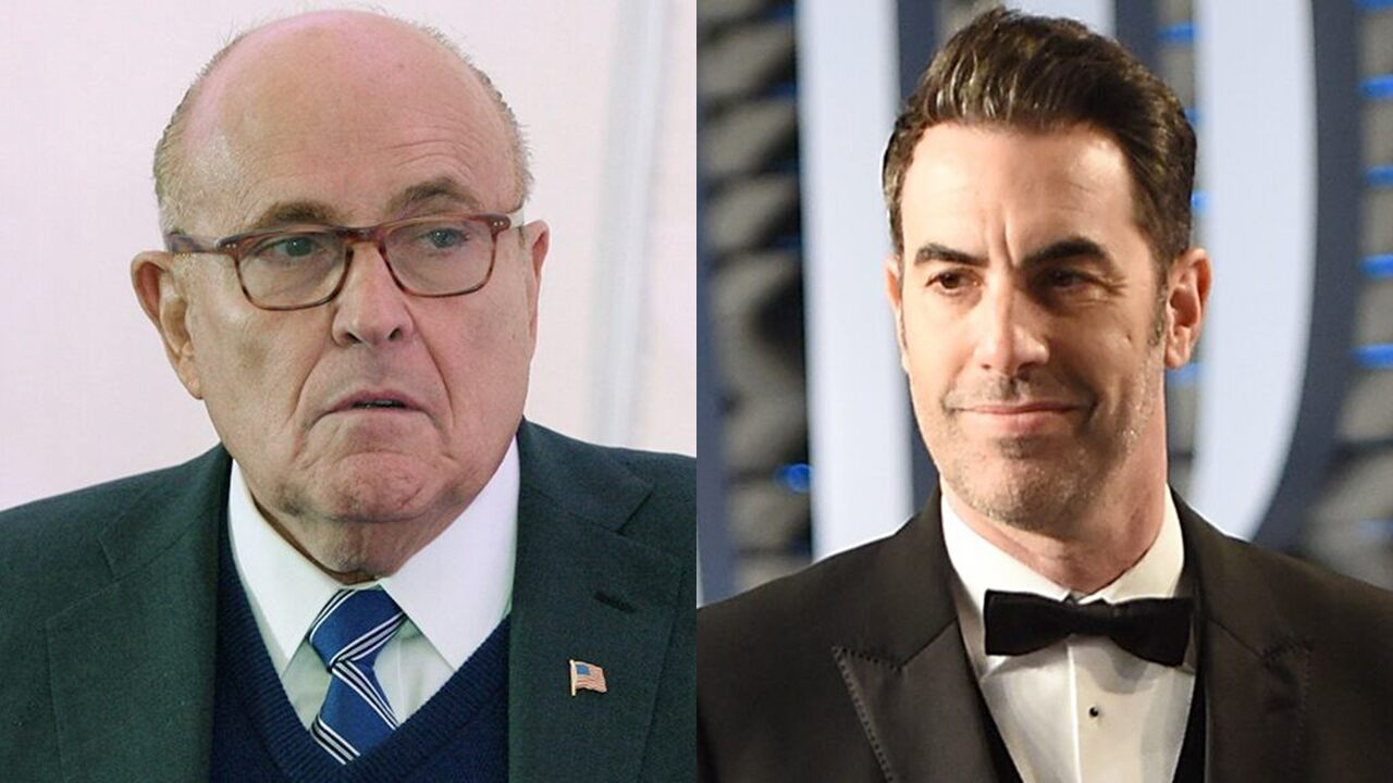 Rudy Giuliani says he called the police on Sacha Baron Cohen following attempted prank