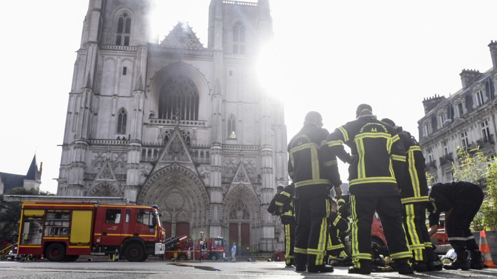 Rwandan asylum seeker admits to setting French cathedral on fire | News