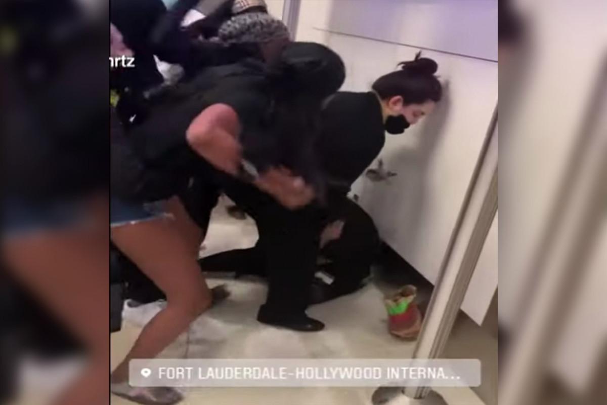 Spirit airline employees injured in brawl over delayed flight in Florida