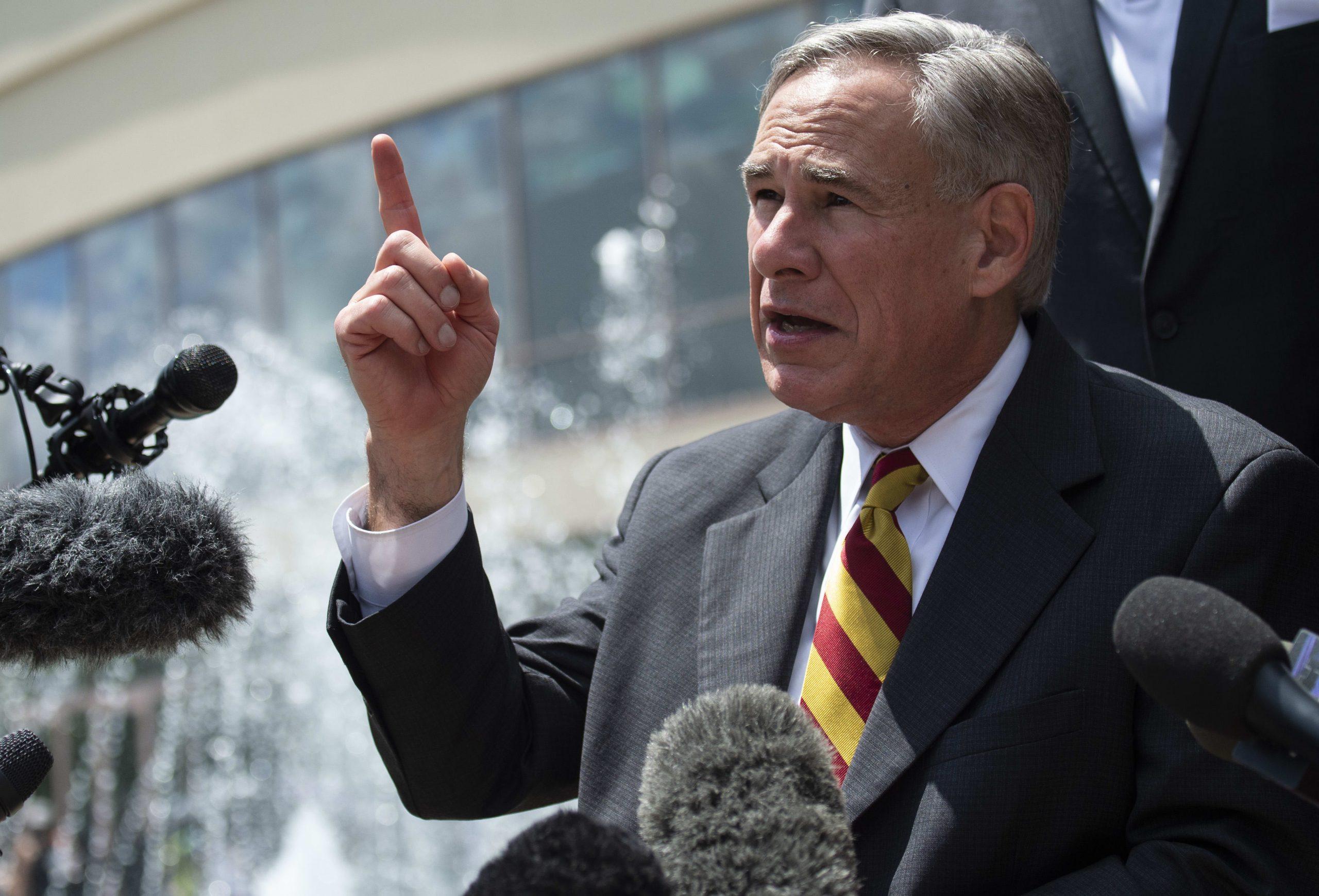 Texas coronavirus outbreak 'going to take a little while' to eliminate, Gov. Abbott says