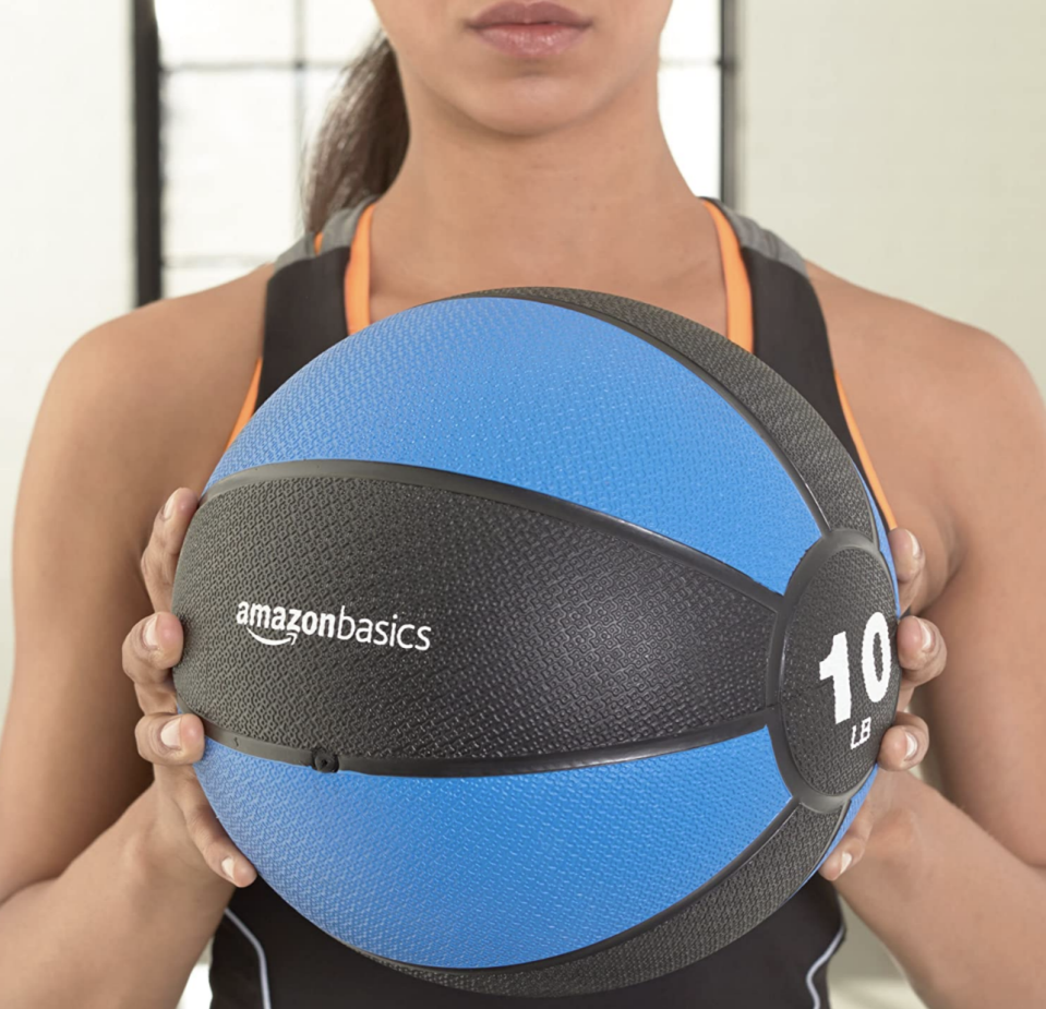 AmazonBasics Medicine Ball (Photo: Amazon)