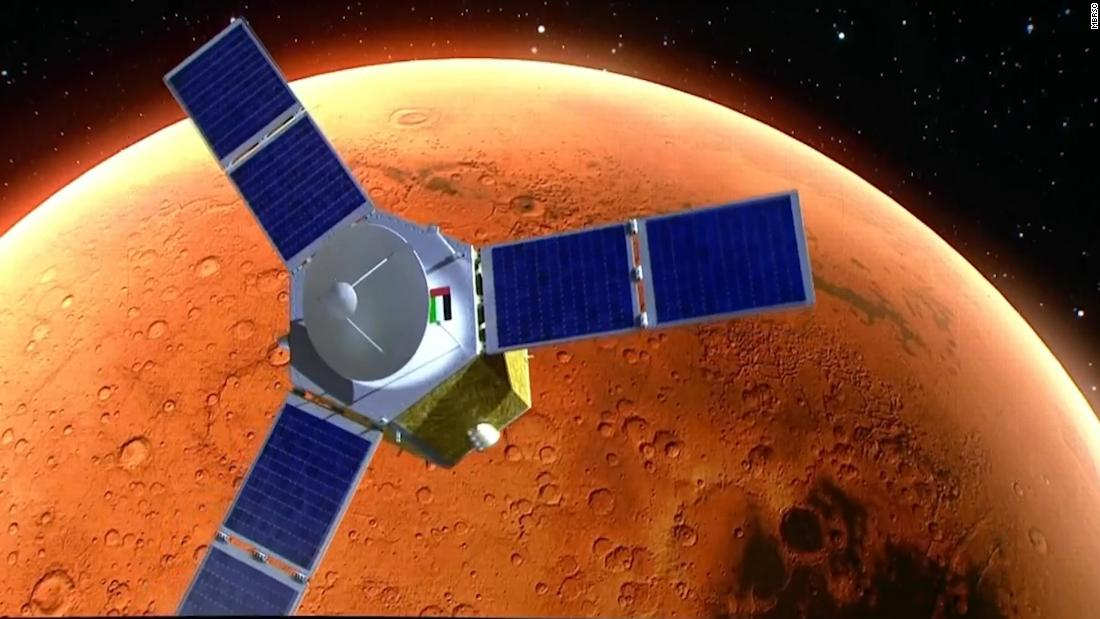The UAE has successfully launched the Arab world's first Mars mission