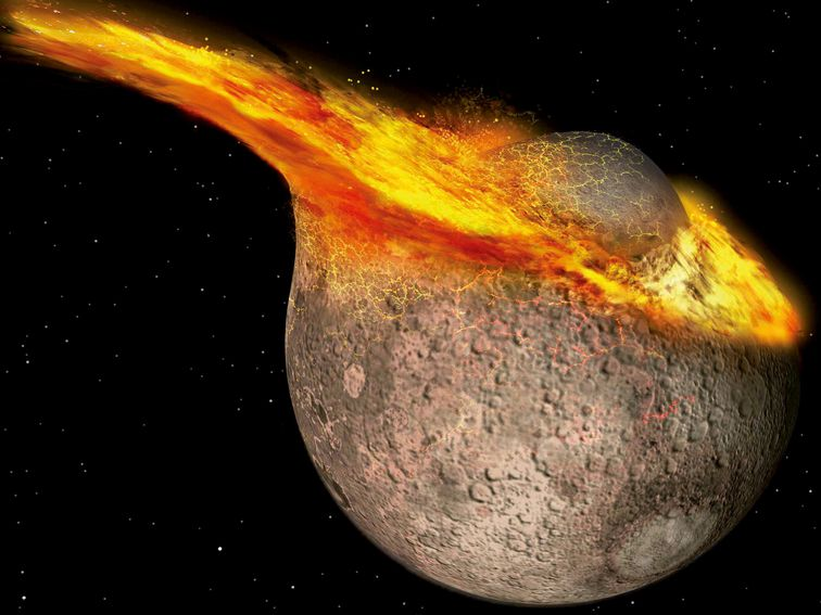 The moon is younger than we believed
