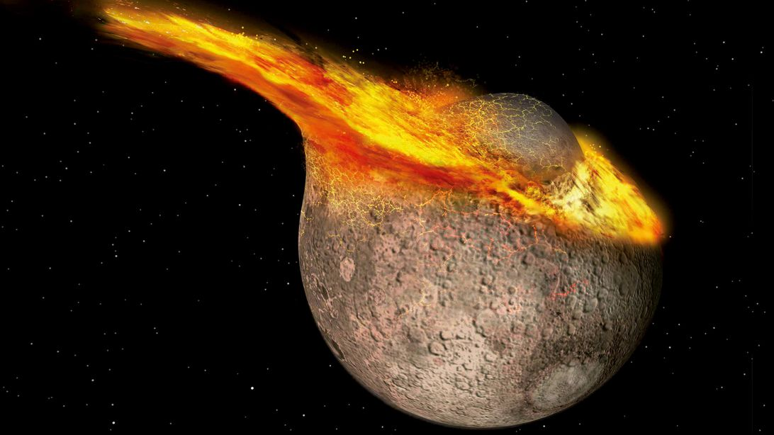 The moon is younger than we believed - Aviation Analysis Wing