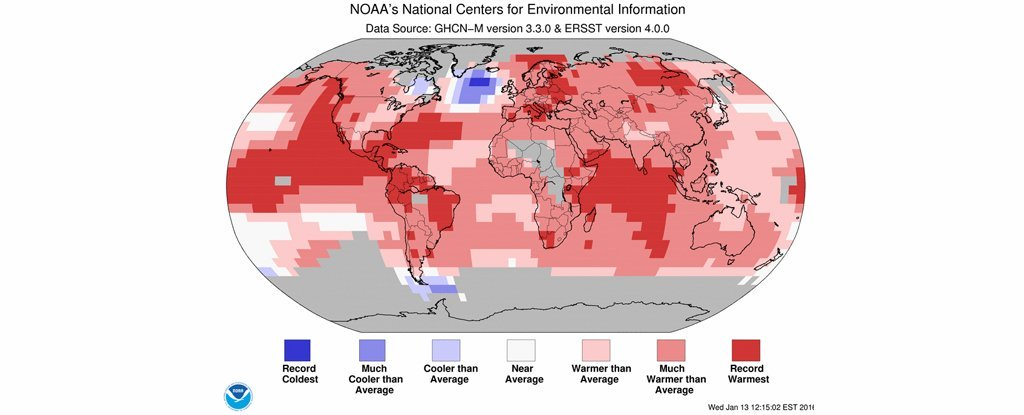 There's A Place On Earth Getting Cooler, Not Hotter. A New Study Sheds Light On Why