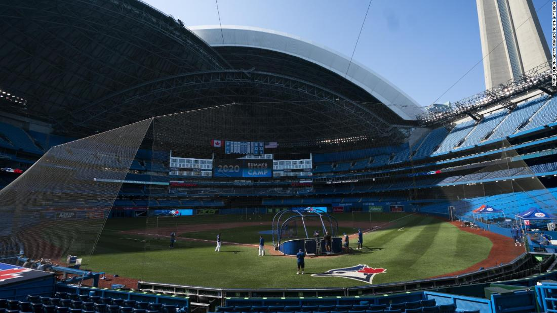 Toronto Blue Jays trying to get exemption to perform household game titles