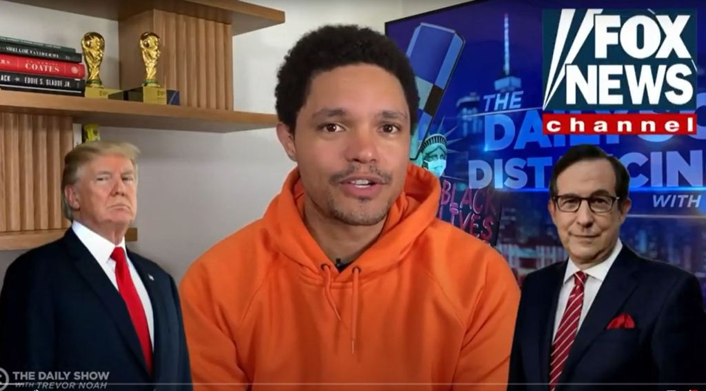 Trevor Noah Delights At Donald Trump's Double Whammy At Chris Wallace's Arms – Deadline