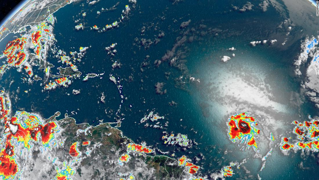 Tropical Storm Gonzalo sets a history as it churns toward the Caribbean